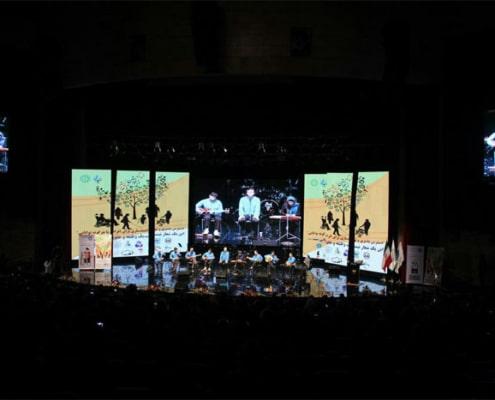 اجرای موسیقی سنتی در برج میلاد