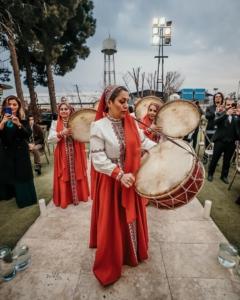 گروه دف و ساقدوش برای عروسی مهر پاییز